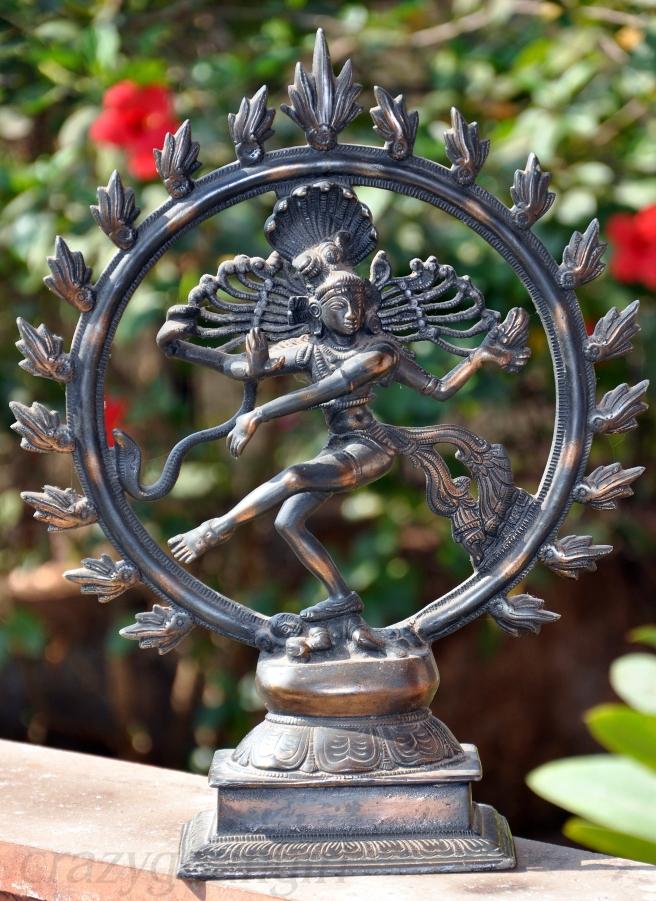 Lord Shiva as Nataraja, the Dancer.