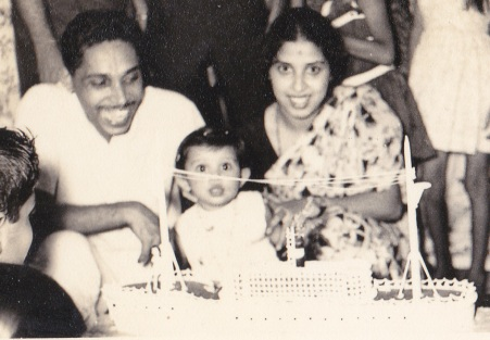 My First Birthday - 1969!