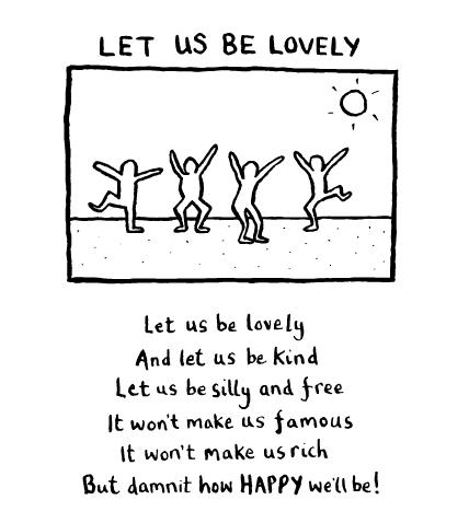 Let us be lovely