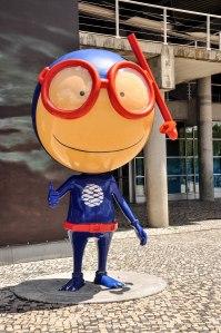Vasco - The Oceanarium Mascot!