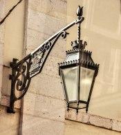 Love the work on this lantern bracket!