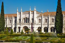 The magnificent Monastery of San Jeronimo at Belem