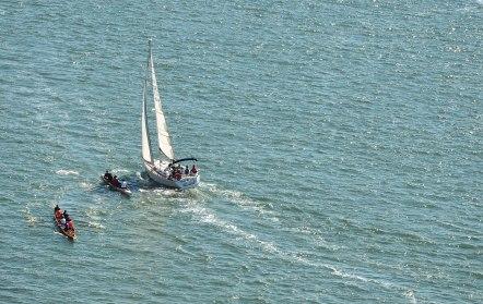 Sailing the Tagus :)