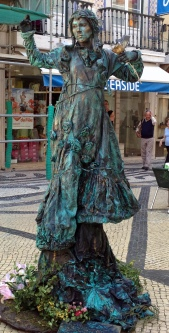 Living Statue at the Rossio :)