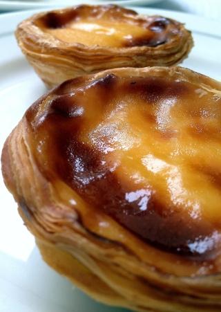 Burnt custard tart - bitter-sweet deliciousness!