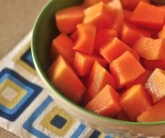 Fruit for breakfast - pretty routine!