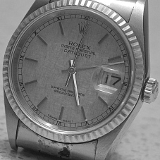 I Cherish Time. My Dad's Rolex...now Hubby's and some day Junior's! Cherished heirloom!
