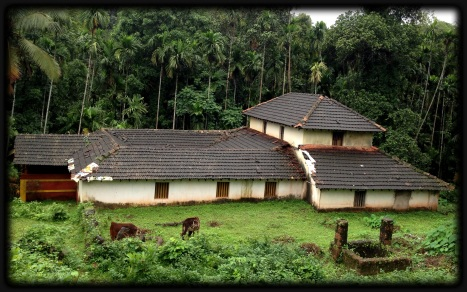 Hubby's old ancestral home in Goa...probably close to a century old.