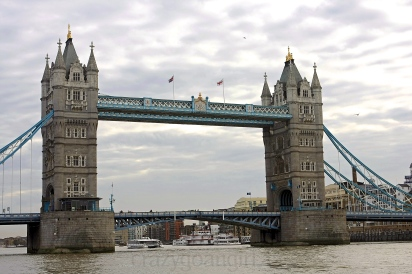 The Tower Bridge built (1886–1894)...One of my favourite London icons.
