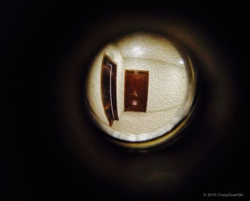 Through the Peephole!